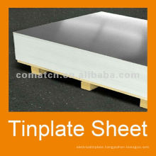 tinplate with MR 5.6/5.6 tinning T4BA for food can production