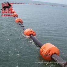 Deers marine dredging pipe floats for dredger
