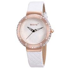 2017 luxury genuine leather wrist watch women