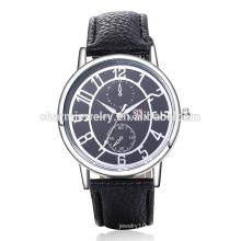 Meistverkaufte Qualitäts-kühle Digital-Quarz-Leder-Armbanduhr SOXY044