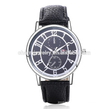 Top Selling High Quality Cool Digital Quartz Leather Wrist Watch SOXY044