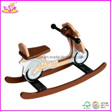 Tour en bois d'enfants sur le jouet à bascule (W16D013)