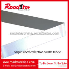 high silver reflective elastic fabric