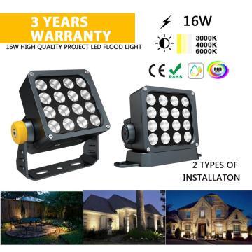 16watt Outdoor LED Flood light for city