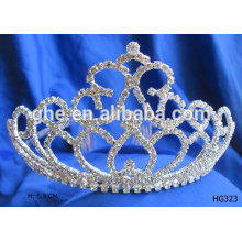 Corona de la corona de la tiara del cumpleaños de la tiara del cumpleaños coronas al por mayor y tiaras