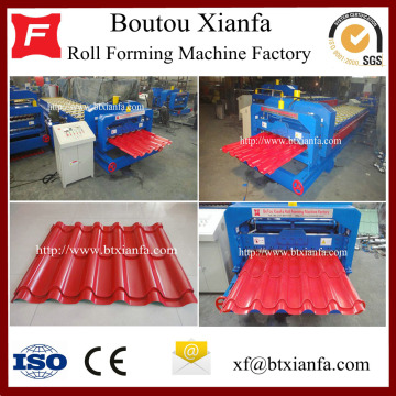 Iron Roofing Tile Sheet Profiling Machine Production Line