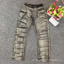 últimas calças de brim do projeto para calças de brim da forma dos meninos dos meninos / miúdos para o inverno