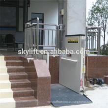 Elevador de cadeira de rodas elétrico hidráulico para idosos