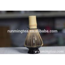 Batedor de bambu matcha