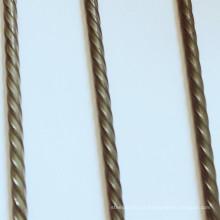 Fio para PC com nervuras em espiral 4,8 mm 6,0 mm 7,0 mm 9,0 mm