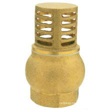 J5005 Brass foot Valve / brass strainer valve