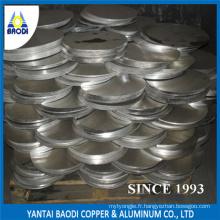 Plaque de plaque signalétique de circulation en aluminium
