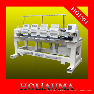 Máquina de bordar computadorizada de alta velocidade 4 cabeça 15 cores para bordado Multi funções