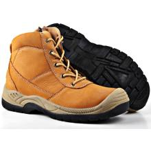 Nubuck Best Quality Leather Safety Shoes Sn5275
