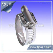 European Type Worm Drive Hose Clamps