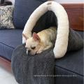 Animal de compagnie en gros laine de coton doux chien de compagnie caverne sacs chat animal de compagnie
