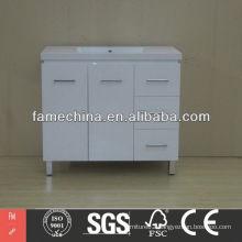 New Polymarble Bathroom Vanity Hangzhou Factory Polymarble Bathroom Vanity