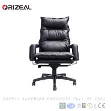 Orizeal Meilleur prix bureau haut ergo gestionnaire de bureau en cuir patron chaise (OZ-OCL006A)