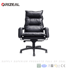 Orizeal Best price office high back ergo manager leather office boss chair(OZ-OCL006A)