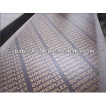 18mm waterproof gule marine plywood/film faced plywood