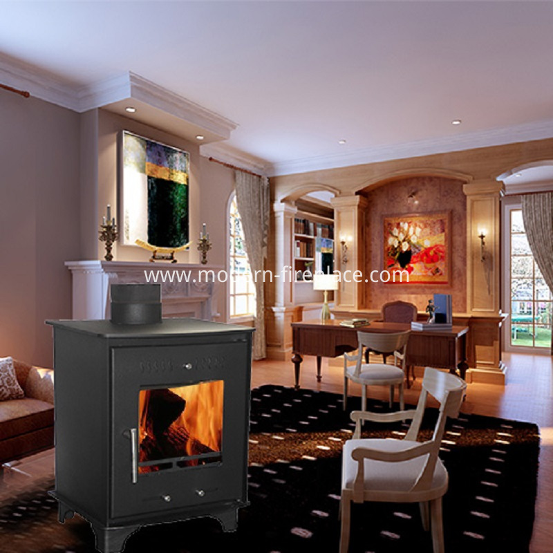 Small Modern Wood Burning Stoves Insert