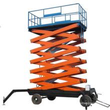 electric hydraulic heavy scissor lift platform