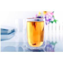 300ml Taza de café de cristal de consumición de la pared doble creativa Taza de té