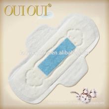 Serviettes hygiéniques superbes jetables d'anion, serviettes hygiéniques pour des dames