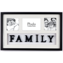 Ouverture 3 MDF Collage Photo Frame famille