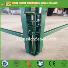 Green Powder Coated Horse Fence Panel Cattle Fence Panel Farm Fence Panel
