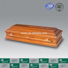 Madeira de estilo alemão LUXES porta-Funeral caixões para cremação