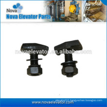 Elevator Rail Clips with Screws