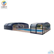 Marco de aluminio de alta calidad Sala de sol de cristal portátil