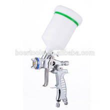 HVLP spray gun H777P chrome plated for car painting