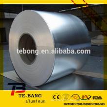 Feuillet en aluminium, feuille de récipient, papier d'aluminium ménager, feuille de papier pharmaceutique, papier couché