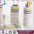 Essentials Einfache Kollektion 6-teiliges Keramik-Bad Geschenkset