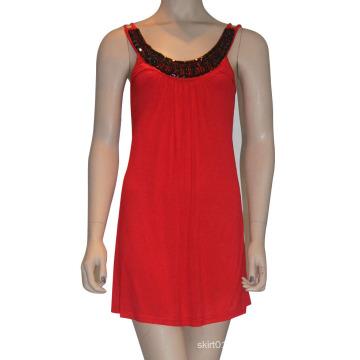 Heiße Verkaufs- u. Qualitäts-Kleidung im Jahre 2015 Damen-Art- und Weisehülsen-reizvolles Kleid