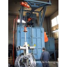 Foundry Metal Parts Sand Blasting Burnish Machine