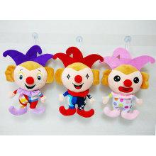 Juguete relleno de peluche lindo del payaso de las muñecas del juguete suave para la promoción