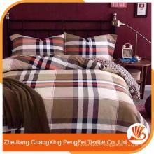 Conception de draps de style style rayures pour le textile à la maison