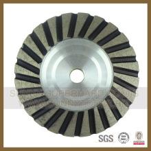 Roue chaude de tasse de Turbo de rangée simple de ventes chaudes (SY-STCW-55)