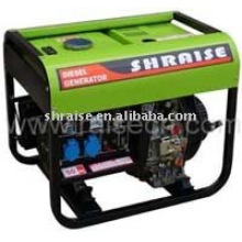Single phase Open frame diesel generator