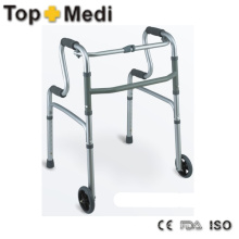 Humanization Design Medical Walking Aids Walker with Two Height Level Armrest