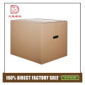 Different types customized size corrugated waste 7-ply carton box for pineapple