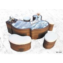 Современный Wicker Открытый чайный стол Садовая мебель Bp-A68