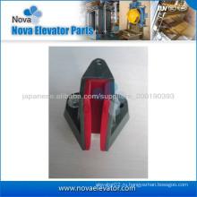 Скользящий направляющий башмак для скоростного лифта