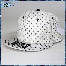 Concevez votre propre chapeau Snapback en gros Casquette snapback bon marché