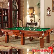 Table de billard pas cher TB-CS052 en bois massif de style supérieur à vendre