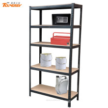 Very cheap boltless light duty slotted angle steel rack