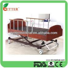 Cama de cuidado médico ajustable eléctrica de alta calidad para la venta